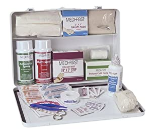 Medique 807M1 Large Vehicle First Aid Kit, Filled by Medique