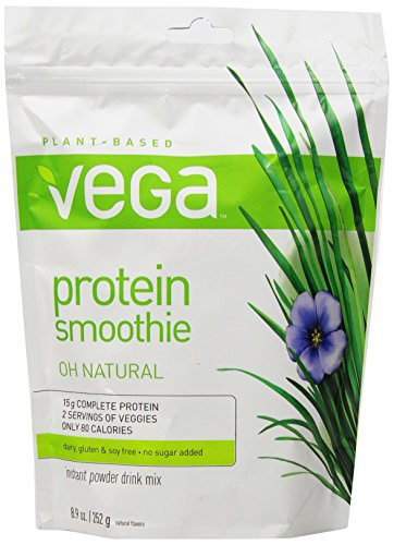Vega Protein Smoothie, 8.9 Oz Pouch, Natural front-801685