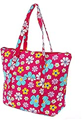 Belvah Quilted Large Tote Bag