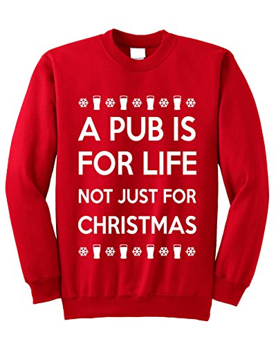 unisex-a-pub-is-for-life-not-just-for-christmas-christmas-jumper-m-red-white-print