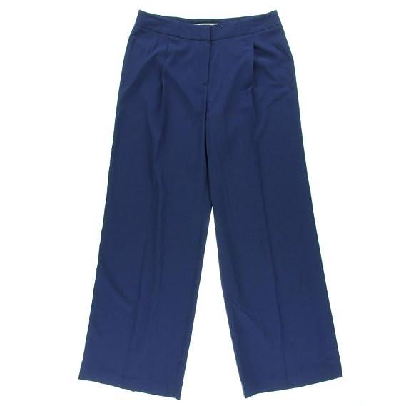 Nine West Retro Luxe Sapphire Purple Suit Pants