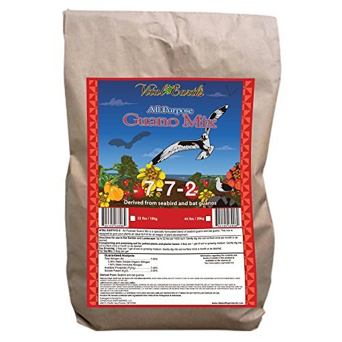 Vital Earth'S Guano Mix 7-7-2, 44-Pound Bag