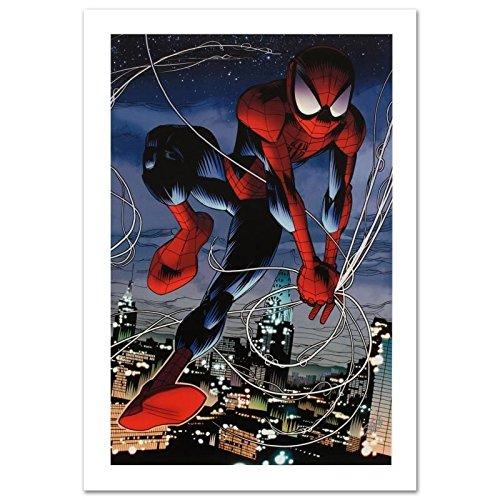 STAN LEE signed ULTIMATE SPIDER-MAN Canvas Marvel ORIGINAL COMIC Artworks COA