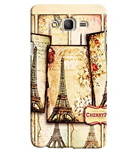 Clarks Effil Tower Of Paris Hard Plastic Printed Back Cover/Case For Samsung Galaxy On 5