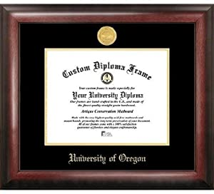 University of Oregon Ducks Home Office Diploma Picture Frame