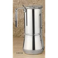 ILSA Stainless steel stove top, 6- cup