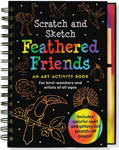 Scratch & Sketch Feathered Friends (Scratch and Sketch)