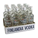 Finlandia Plain Vodka 5cl Miniature - 12 Pack
