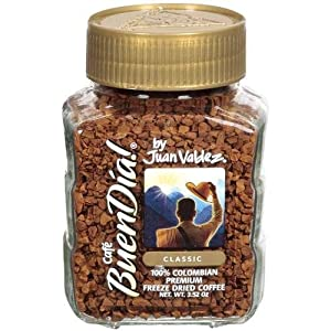 Coffee Buendia By Juan Valdez Classic 100% Colombian - Cafe Buen Día Colombiano 3.52 Oz.