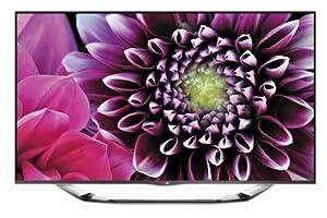 LG 47LA6918 119 cm (47 Zoll) Cinema 3D LED-Backlight-Fernseher (Full HD, 400Hz MCI, WLAN, DVB-T/C/S, Smart TV) silber