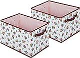StorageStyle 快適収納 ボックスケース 2個組 2mm厚の厚紙を使用した丈夫なボックス