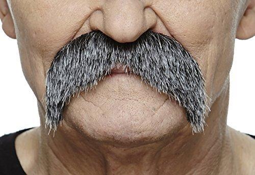 Walrus salt and pepper moustache