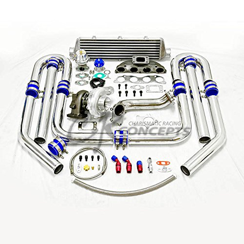 High Performance Upgrade T04E T3 9pc Turbo Kit - Honda K20 Engine (Blow Off Valve For Honda Civic Si compare prices)