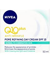 NIVEA Q10 Plus Anti-Wrinkle Pore Refining Day Cream SPF 15 - 50 ml