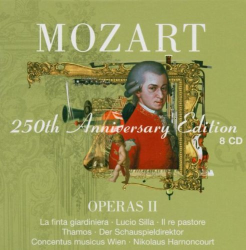 Operas Ii / La Finta Giardiniera - Mozart - Cofre de 8 CD