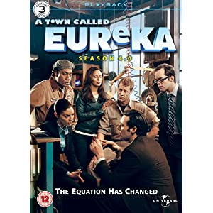 EUReKA - Staffel 4 auf DVD