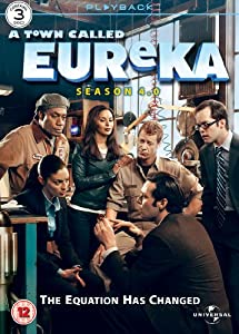 A Town Called Eureka - Season 4.0 [DVD]