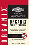 Castor & Pollux Organix Adult Canine Formula, Chicken, Brown Rice & Flax Dry Dog Food, 25-Pound Bag