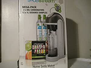 Sodastream Dynamo LX Home Soda Maker Deluxe Mega Pack