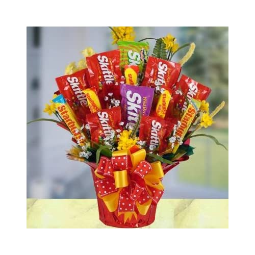 Amazon.com : All Time Favorites Sweet Skittles Gourmet Candy Gift Set