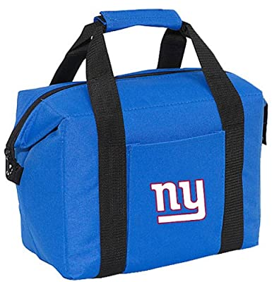 New York Giants 12-Pack Sports Drink Beer Water Soda Beverage Can Bottle Insulated Picnic Outdoor Party Beach BBQ Kooler Cooler Bag