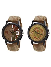 Relish Black Analog Round Casual Wear Watches For Men - B019T7LISC