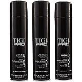 TIGI PRO Look Set Enhance Shine Strong Firm Hold Hair Spray Hairspray (3 Pack)