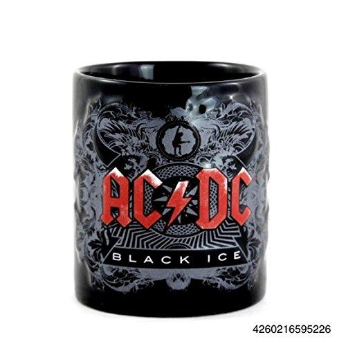 AC/DC Black Ice Tazza nero