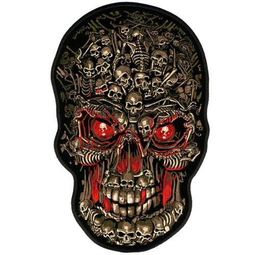 Hot Leathers Skull Makes Skull Biker Patch (4