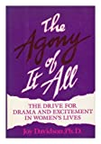 img - for The Agony Of It All by Ph.D. Joy Davidson (1988-05-01) book / textbook / text book