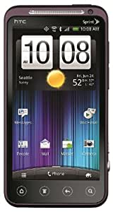 HTC EVO 3D 4G Android Phone, Plum (Sprint)