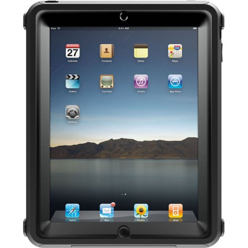 'OtterBox APL2-iPAD1-20-C4OTR iPad Defender-Series Case(Black)'