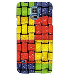 Colourcraft Colourful Pattern Back Case Cover For Samsung Galaxy S5