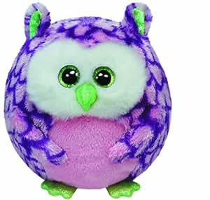 Ty Beanie Ballz Ty Beanie Ballz Ozzy Pink Owl Regular Plush