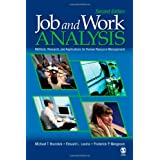Job and Work Analysis: Methods, Research, and Applications for Human Resource Management by Michael T Brannick, Edward L. Levine and Frederick P Morgeson  (Feb 15, 2007)