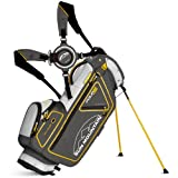 Sun Mountain Golf 2014 Four5 Stand Bag Titanium/Shadow/Yellow