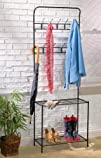 Entryway Organizer With Hooks And Boo…