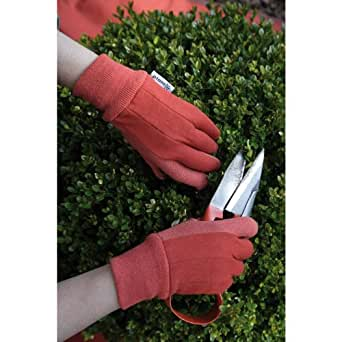 Planto womens comfort grip gardening gloves for Gardening gloves amazon