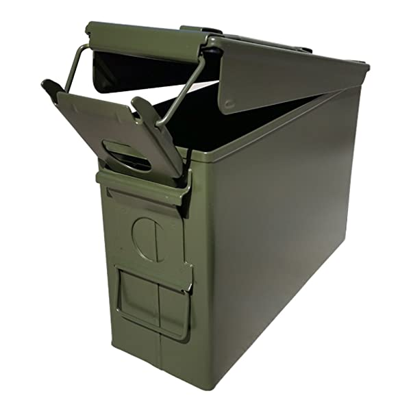 Ammo Can Man, LLC NEW 30 Cal Ammo Can - Blank (Single) (Tamaño: Single)