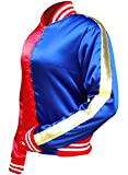 HQ-Red-Blue-Women-Satin-Jacket