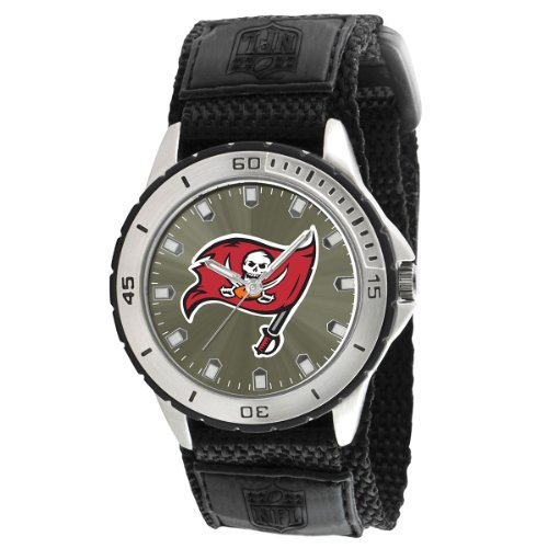 Game Time Men's NFL-VET-TB Veteran Custom Tampa Bay Buccaneers Veteran Series Watch at Amazon.com