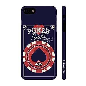 Enthopia Designer Hardshell Case It's Poker Time Back Cover for Apple Iphone 7