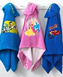 Disney Princess Embroidered Hooded Towel - 100% Cotton