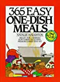 img - for 365 Easy One Dish Meals Anniversary Edition by Haughton, Natalie H. (1996) Spiral-bound book / textbook / text book