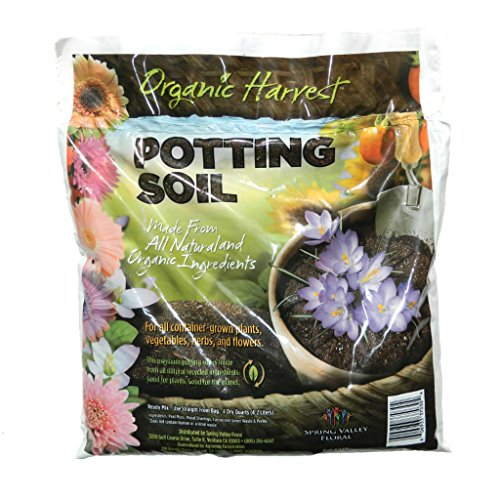 Organic harvest potting mix soil for vegetables herbs and for Organic soil for sale