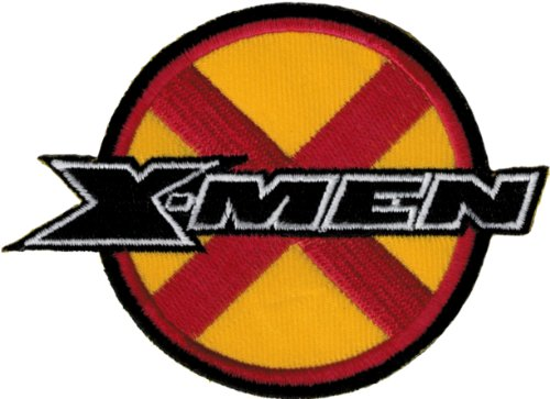 X Men Licensed Classic Logo Embroidered Iron On Movie Patch Xm1