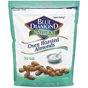 Blue Diamond Almonds Sea Salt 30 Oz by Blue Diamond Almonds