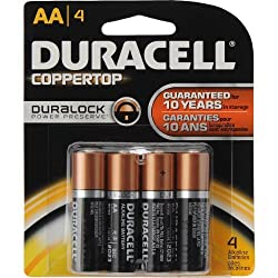 Duracell AA Batteries with DURALOCK Technology