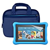 "Fire Kids Edition Essentials Bundle including Fire Kids Edition, 7"" Display, Wi-Fi, 8 GB, Blue Kid-Proof Case, Nupro Screen Protector, Belkin Car Charger and Verso Sleeve video review"