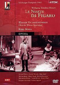 Mozart: Le Nozze di Figaro -- 1966 Salzburg Festival/Bohm [DVD] [2006]